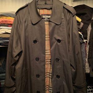 Men's gray Burberry trench coat medium/large